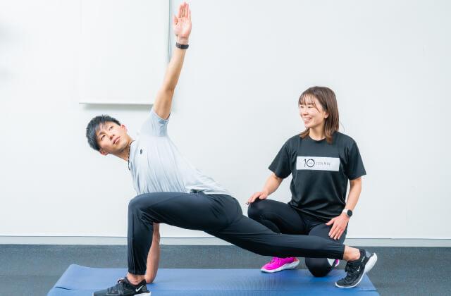 10min ONLINEのトレーニング